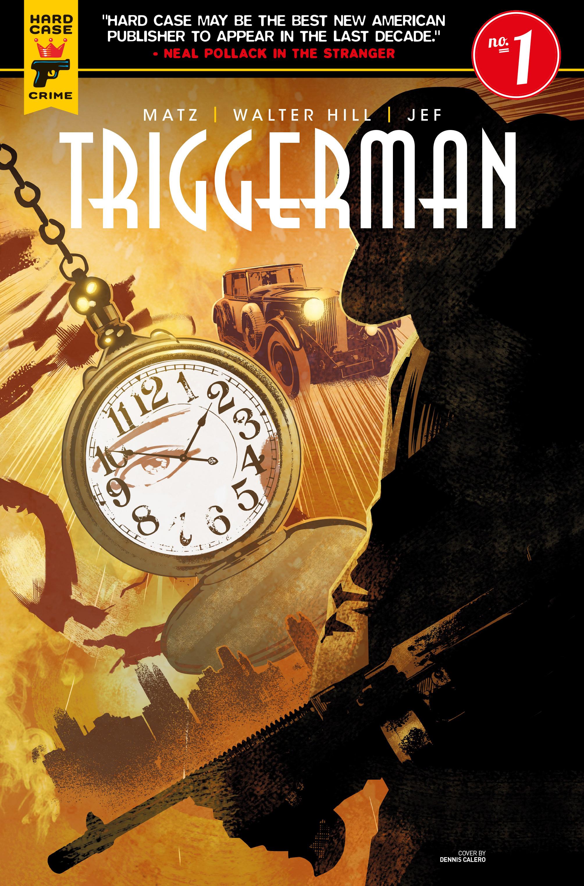 Read online Triggerman comic -  Issue #1 - 2