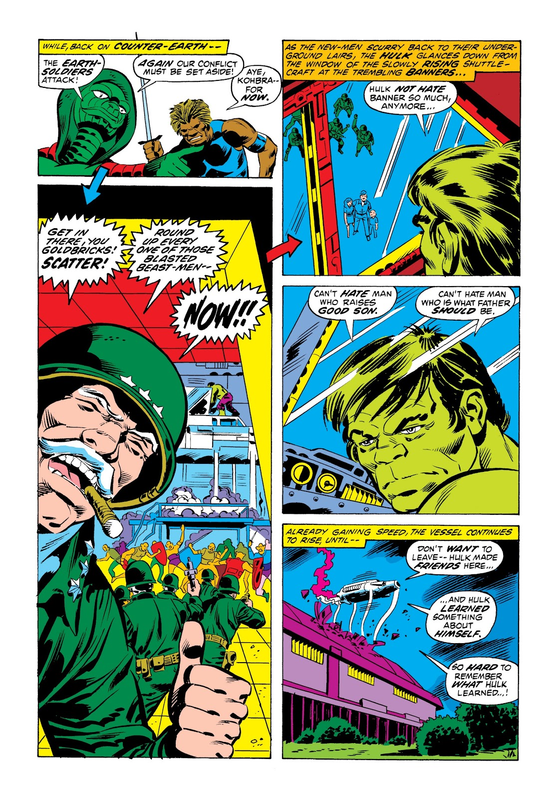 Read online Marvel Masterworks: The Incredible Hulk comic -  Issue # TPB 9 (Part 1) - 48