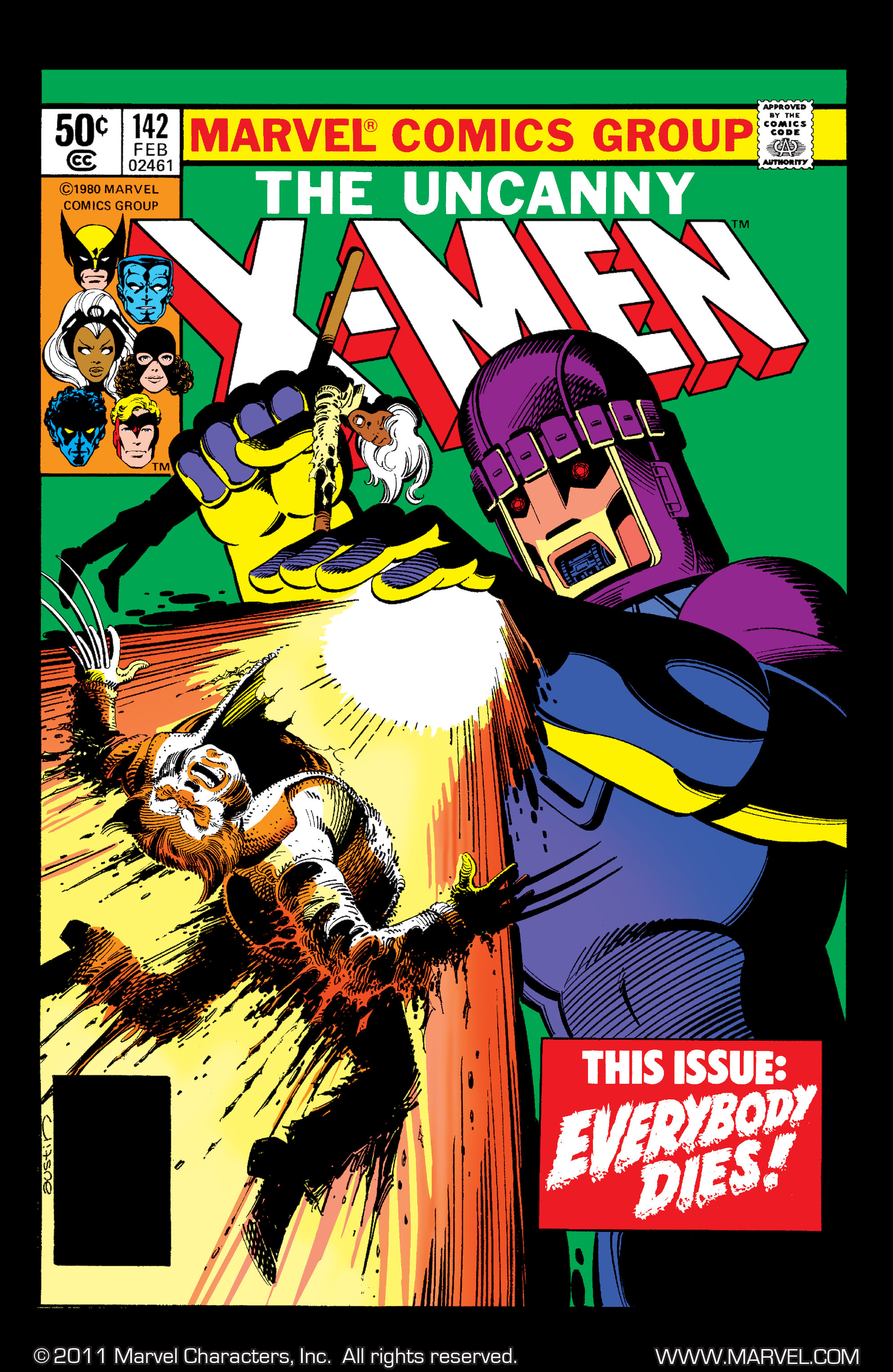 Read online Uncanny X-Men (1963) comic -  Issue #142 - 1