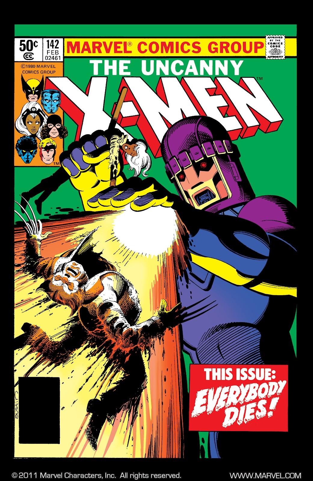 Uncanny X-Men (1963) 142 Page 1