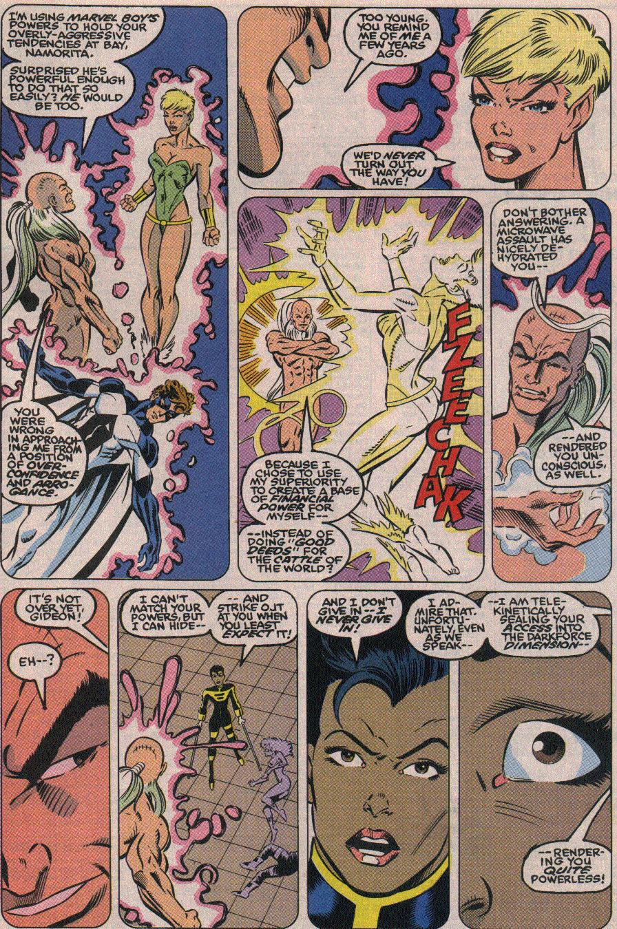 The New Warriors Issue #19 #23 - English 20