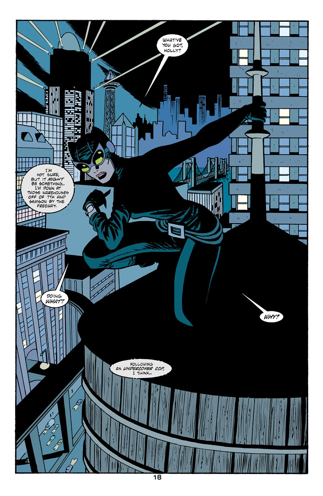 Catwoman (2002) Issue #6 #6 - English 19