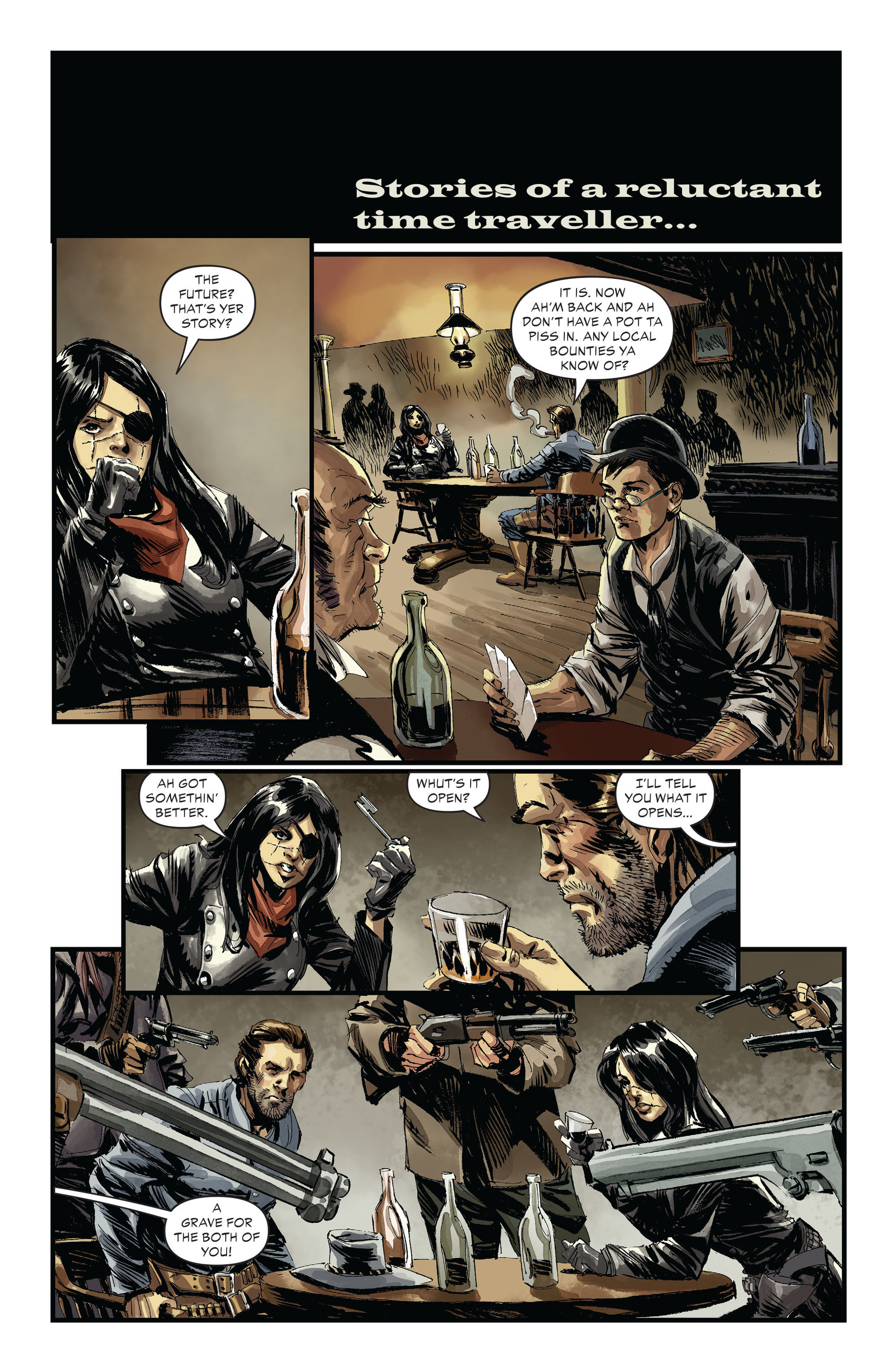 Read online All-Star Western (2011) comic -  Issue #30 - 12