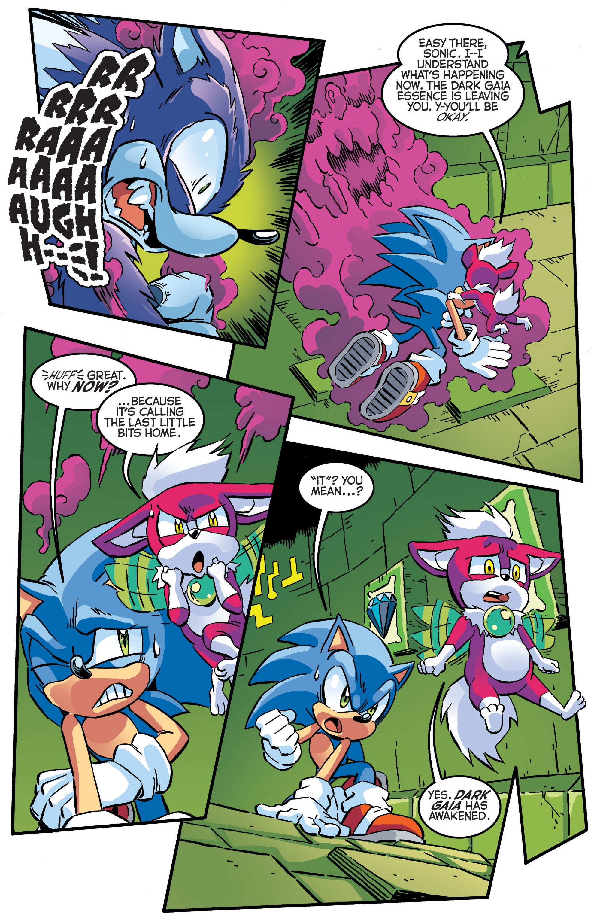 Read online Sonic The Hedgehog comic -  Issue #286 - 18