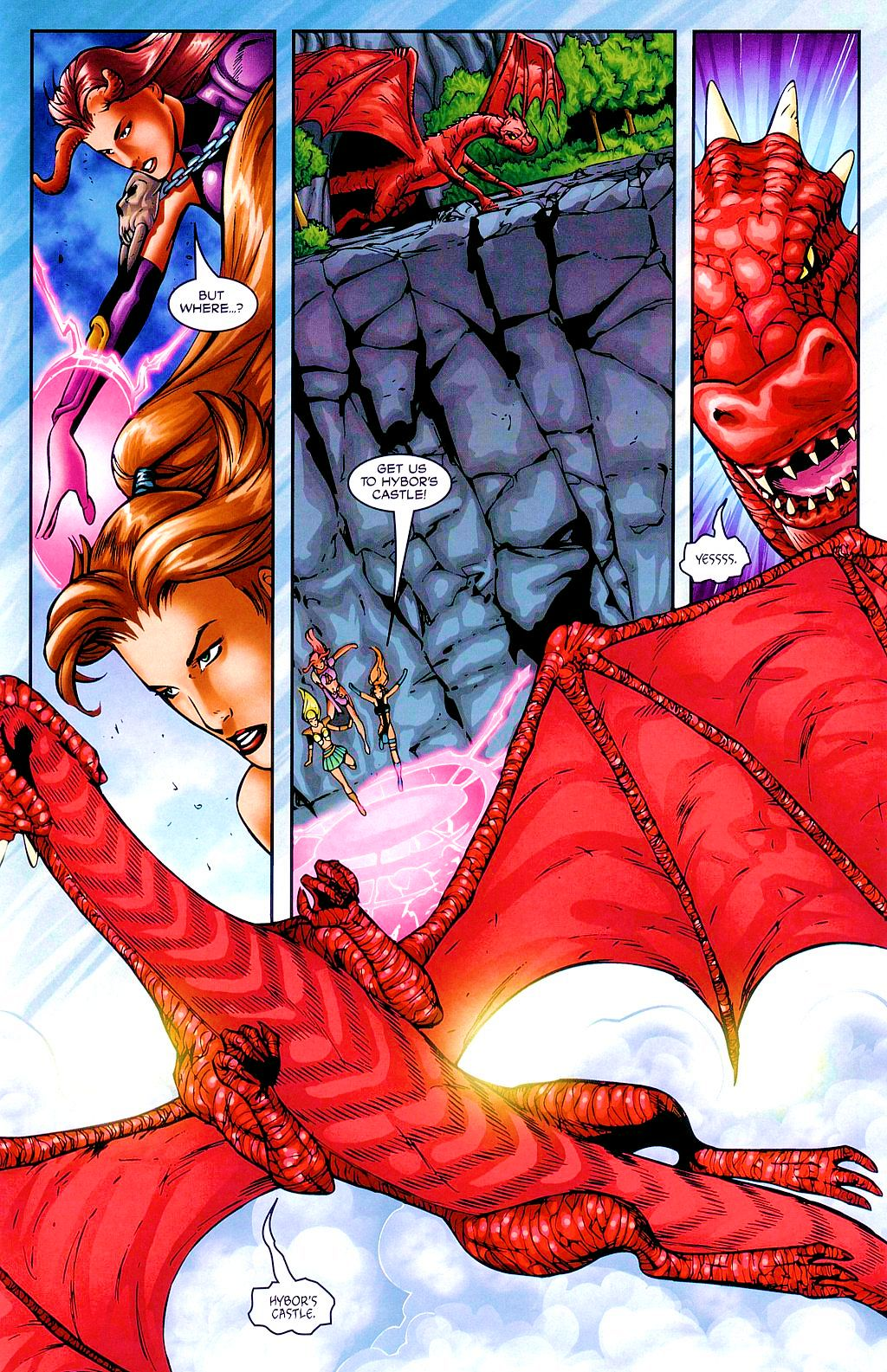 Read online Avengelyne: Dragon Realm comic -  Issue #2 - 14