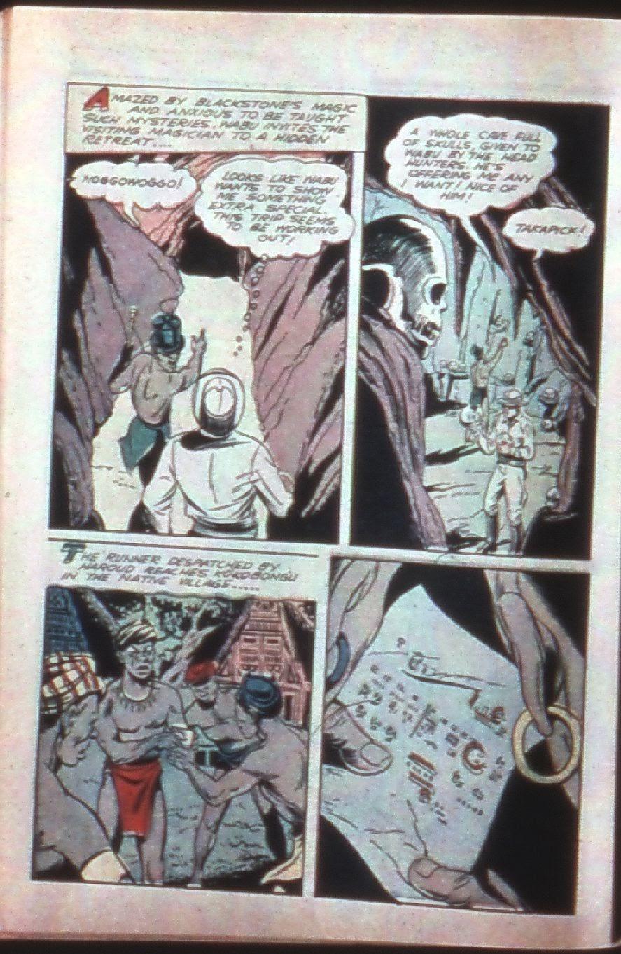 Read online Super-Magician Comics comic -  Issue #7 - 16