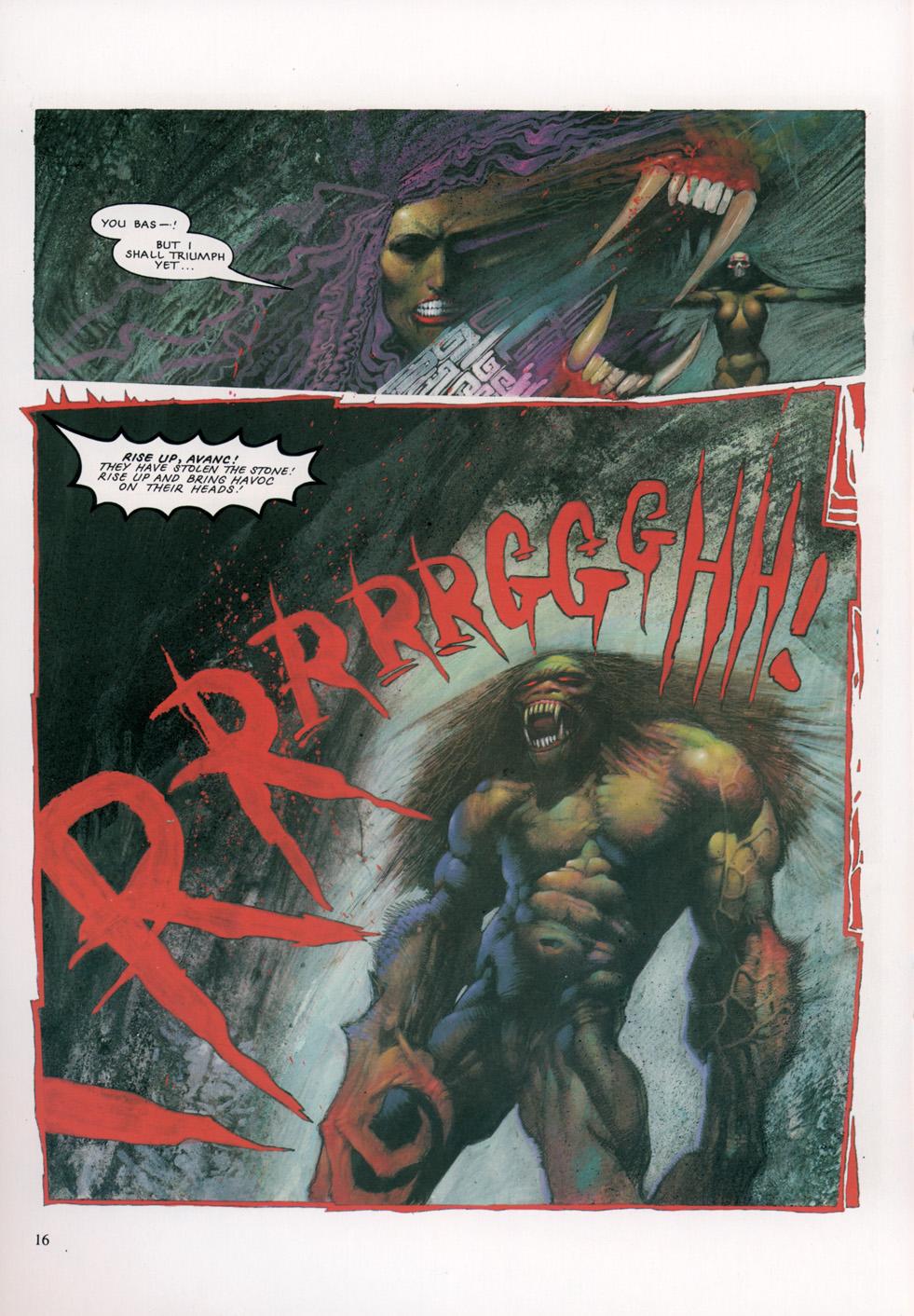 Read online Slaine: The Horned God (1993) comic -  Issue #4 - 17