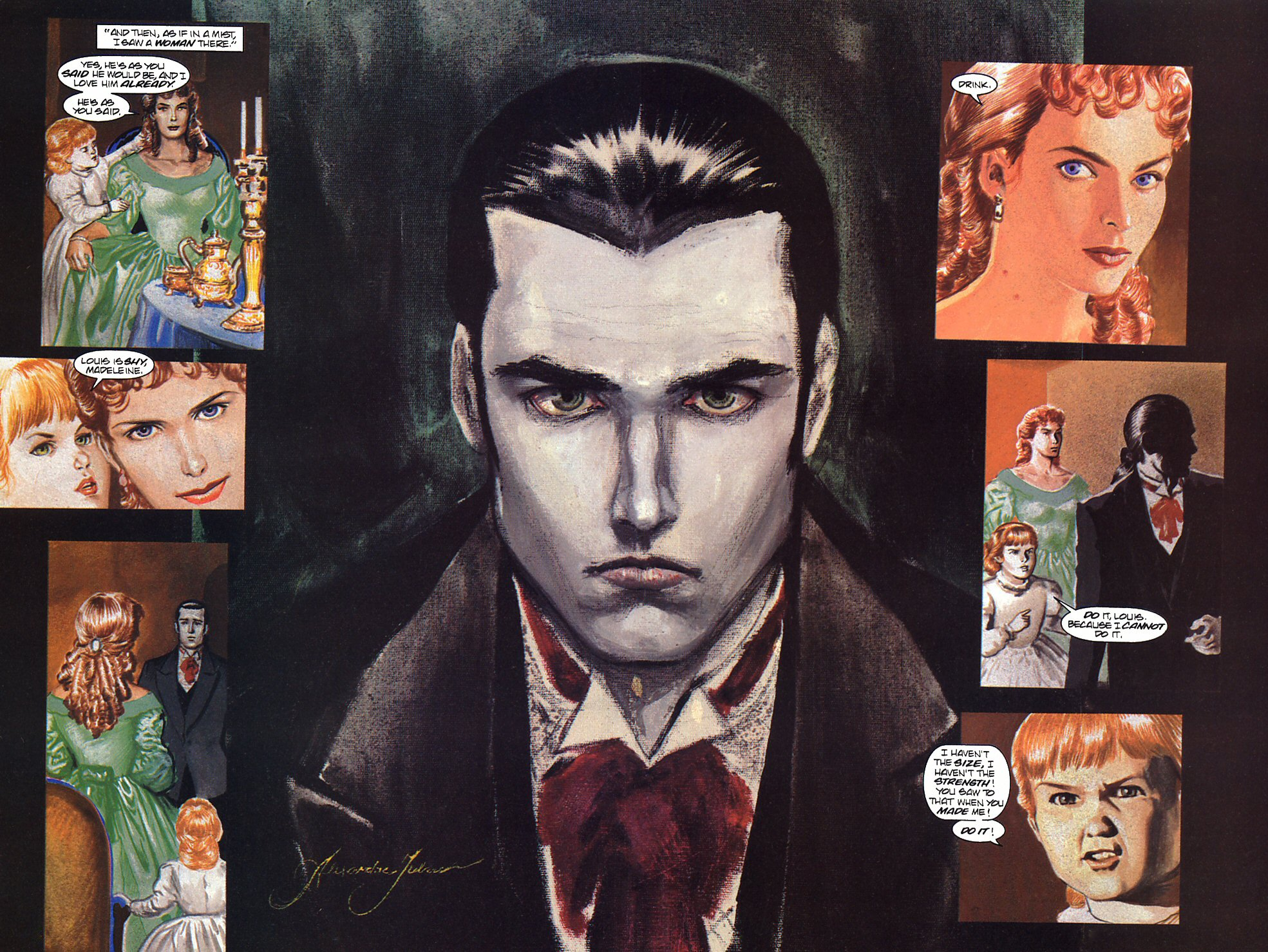 Read online Anne Rice's Interview with the Vampire comic -  Issue #9 - 19