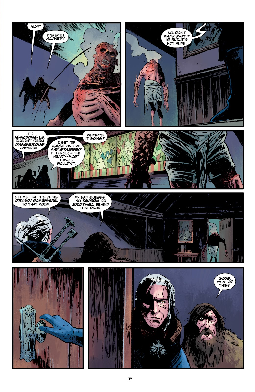 Read online The Witcher Omnibus comic -  Issue # TPB (Part 1) - 39