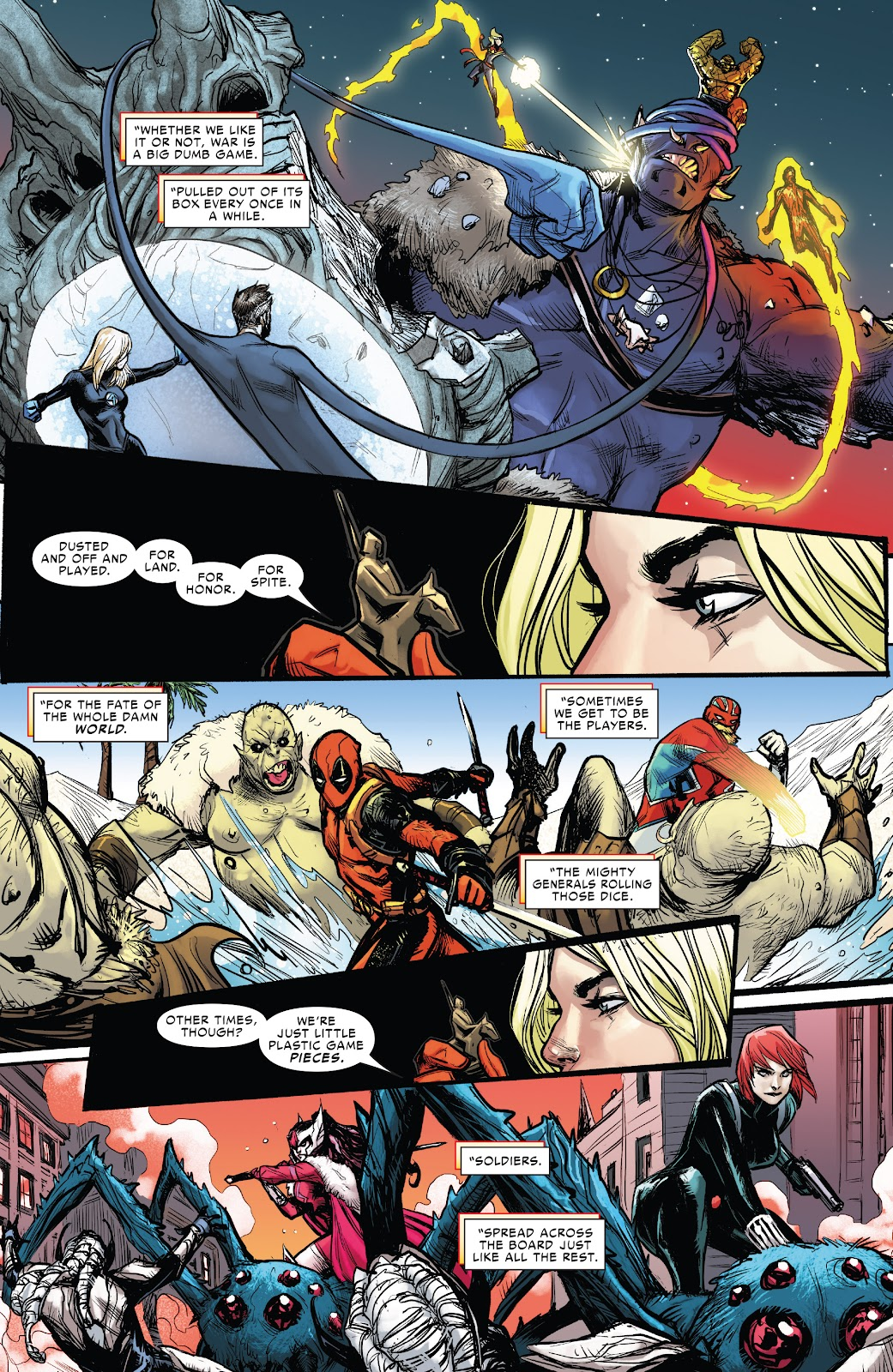 Read online War of the Realms Strikeforce: The War Avengers comic -  Issue # Full - 31