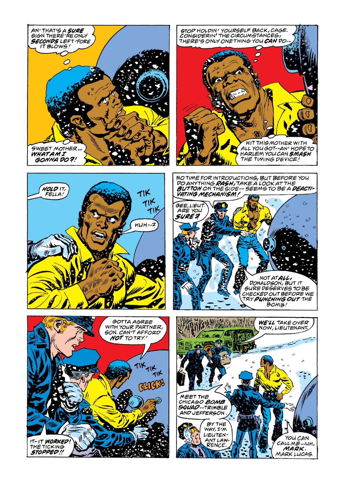 Read online Marvel Masterworks: Luke Cage, Power Man comic -  Issue # TPB 3 (Part 3) - 98