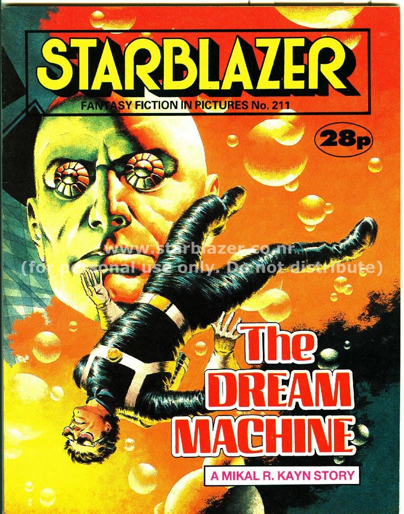 Starblazer issue 211 - Page 1