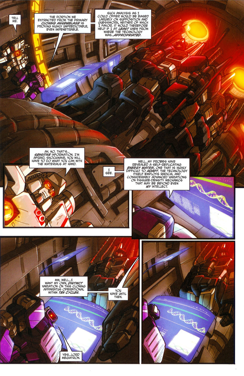 """Read online Transformers War Within: """"The Age of Wrath"""" comic -  Issue #2 - 6"""