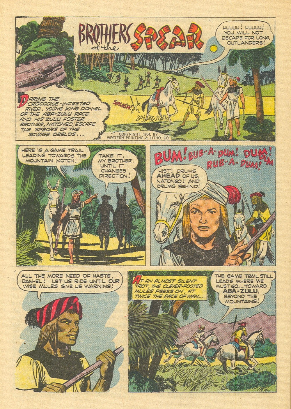 Tarzan (1948) issue 65 - Page 28