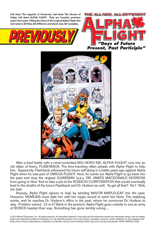 Read online Alpha Flight (2004) comic -  Issue #10 - 2