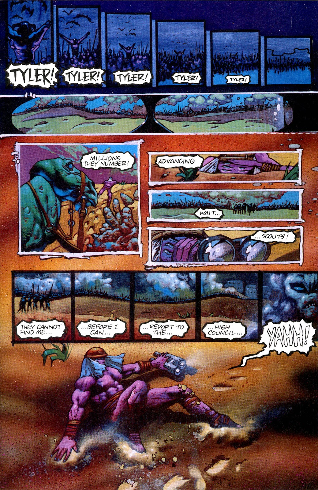Read online Melting Pot comic -  Issue #3 - 25