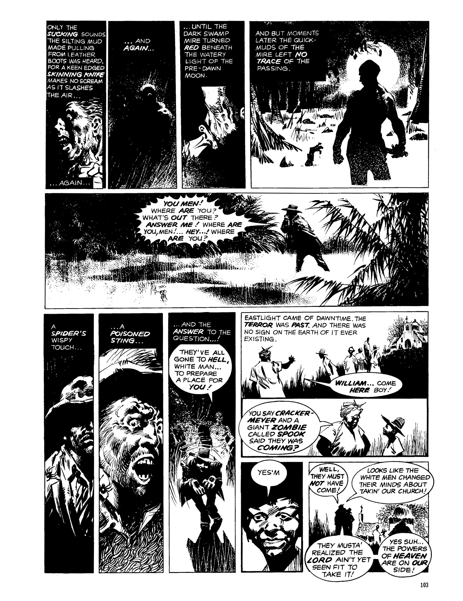 Read online Eerie Archives comic -  Issue # TPB 13 - 104