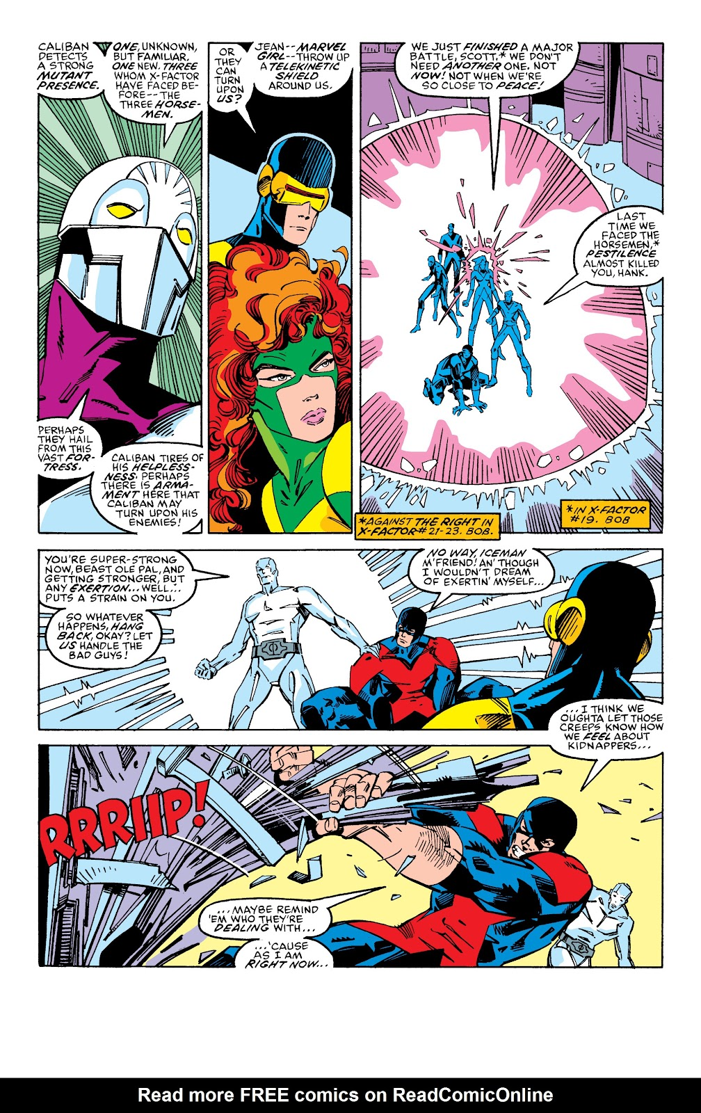 Read online X-Men Milestones: Fall of the Mutants comic -  Issue # TPB (Part 2) - 82