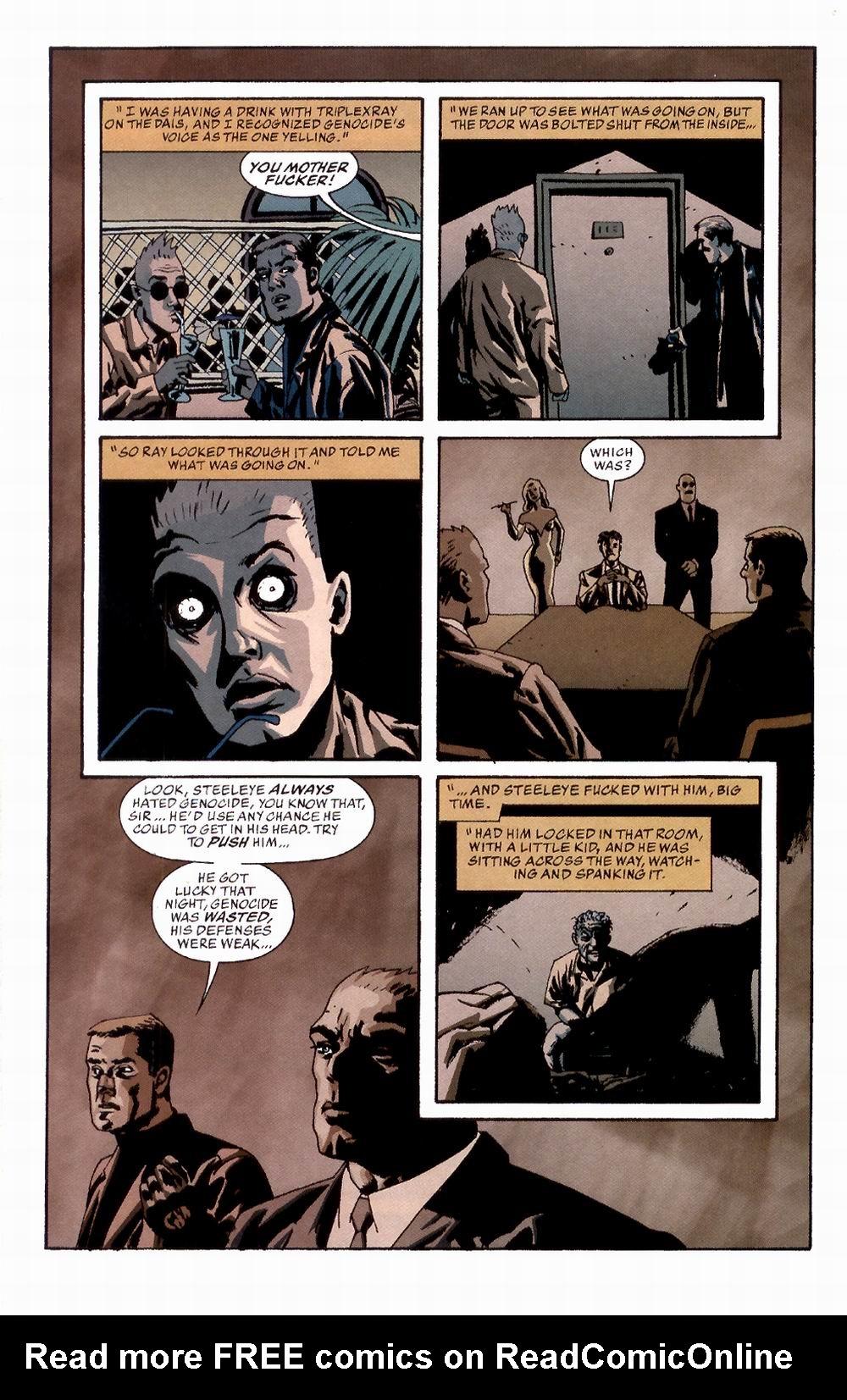 Read online Sleeper comic -  Issue #2 - 16