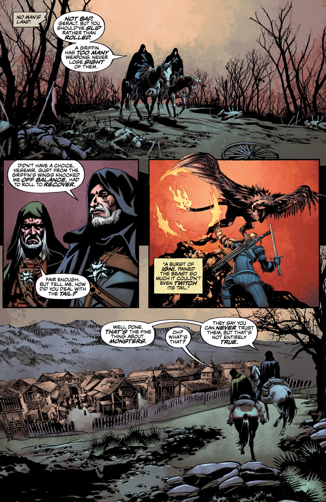 Read online The Witcher Omnibus comic -  Issue # TPB (Part 3) - 49