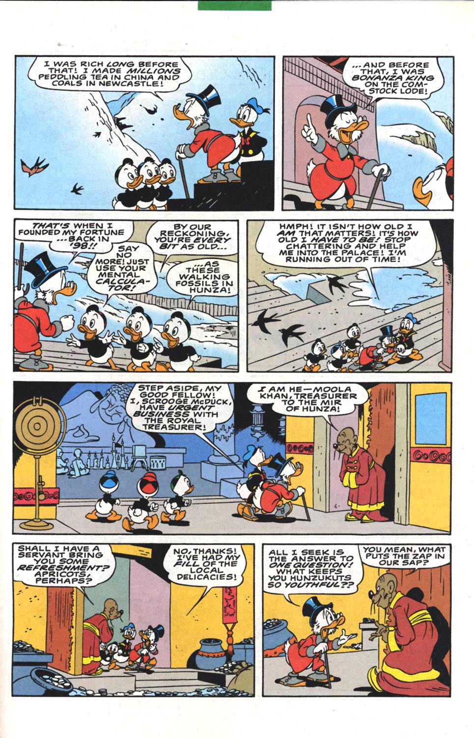 Read online Uncle Scrooge (1953) comic -  Issue #300 - 33