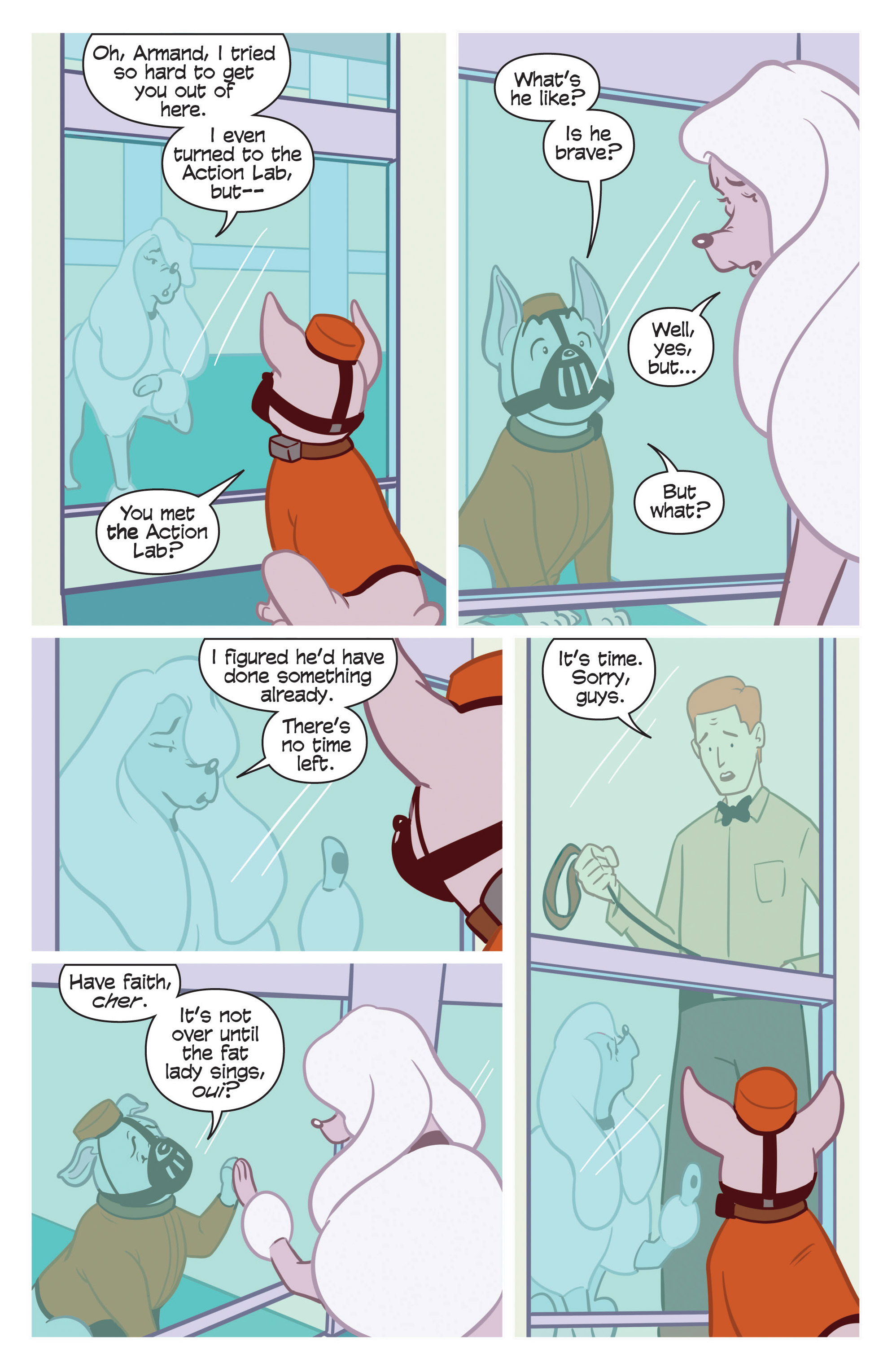 Read online Action Lab, Dog of Wonder comic -  Issue #3 - 10