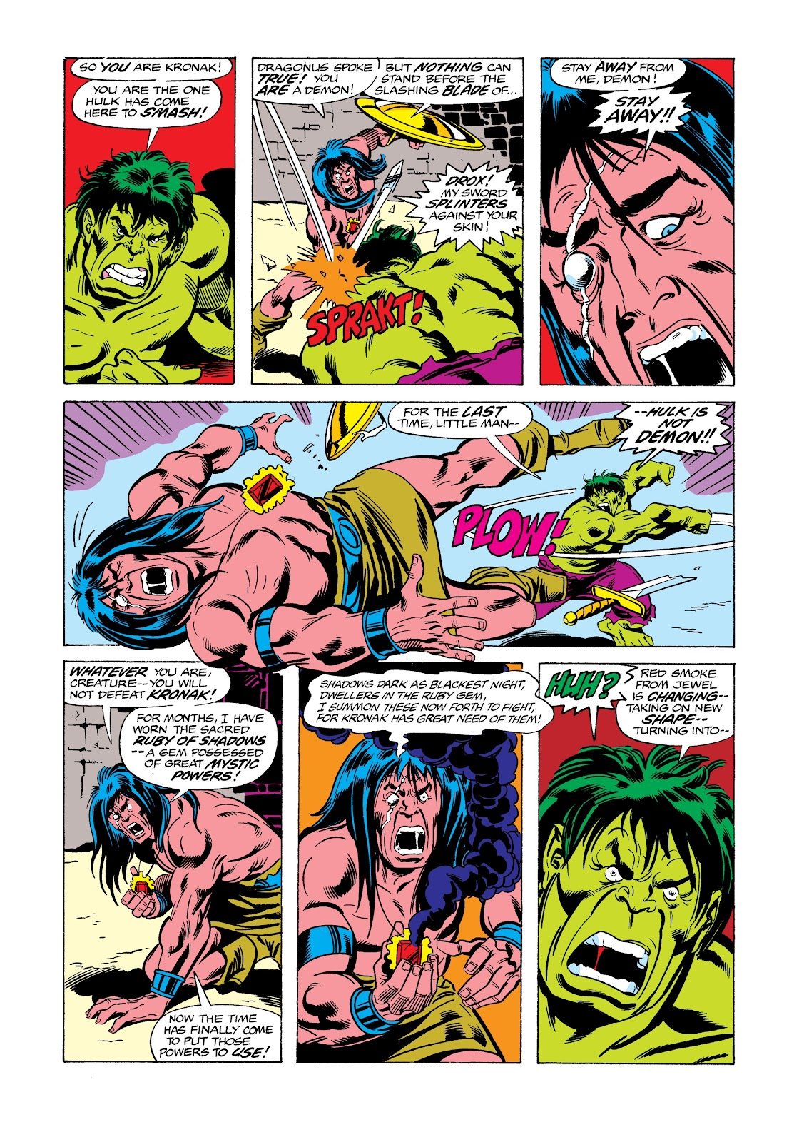 Read online Marvel Masterworks: The Incredible Hulk comic -  Issue # TPB 12 (Part 2) - 31
