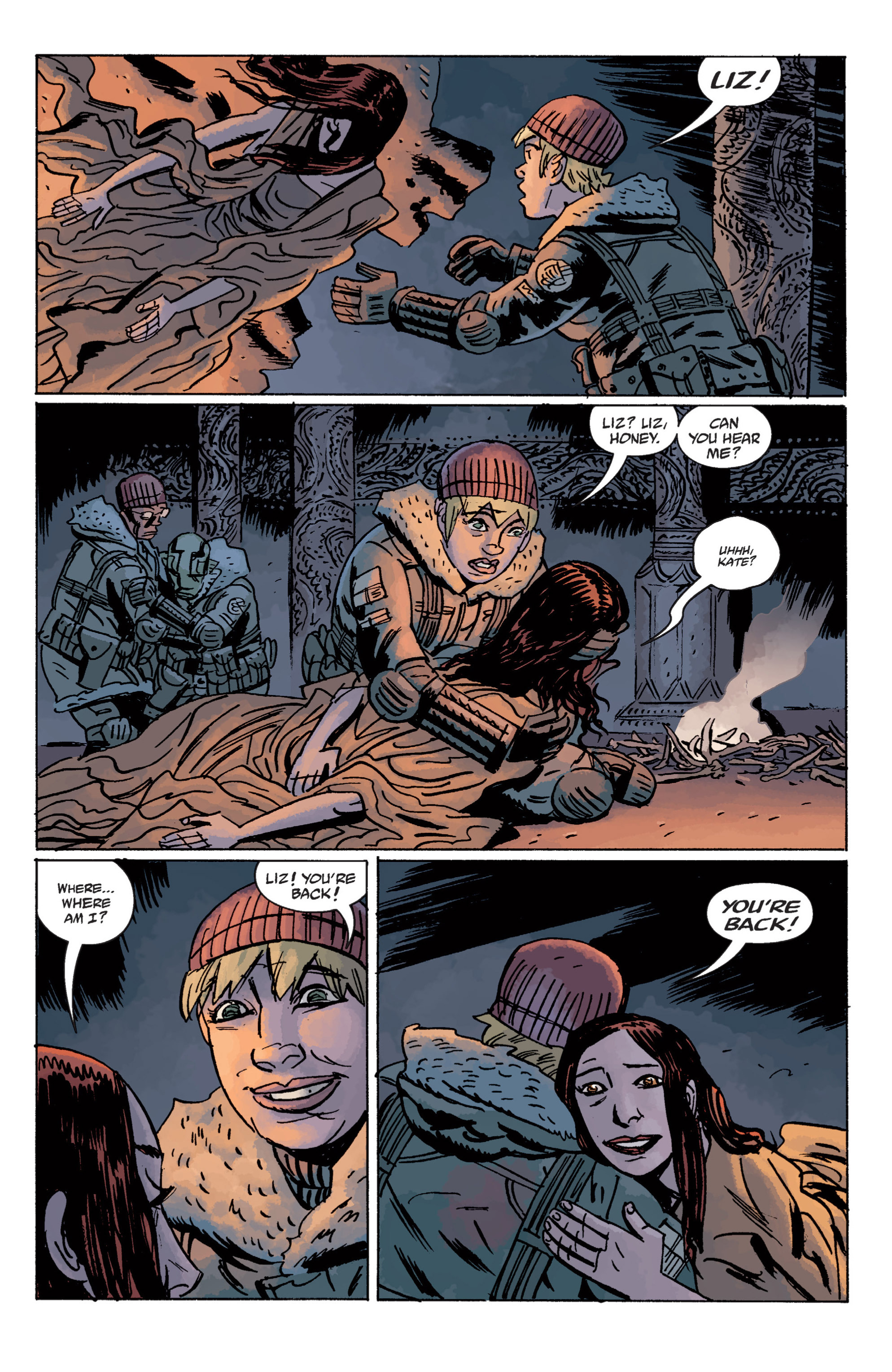Read online B.P.R.D. (2003) comic -  Issue # TPB 11 - 126