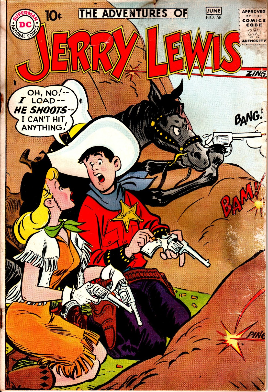 The Adventures of Jerry Lewis 58 Page 1