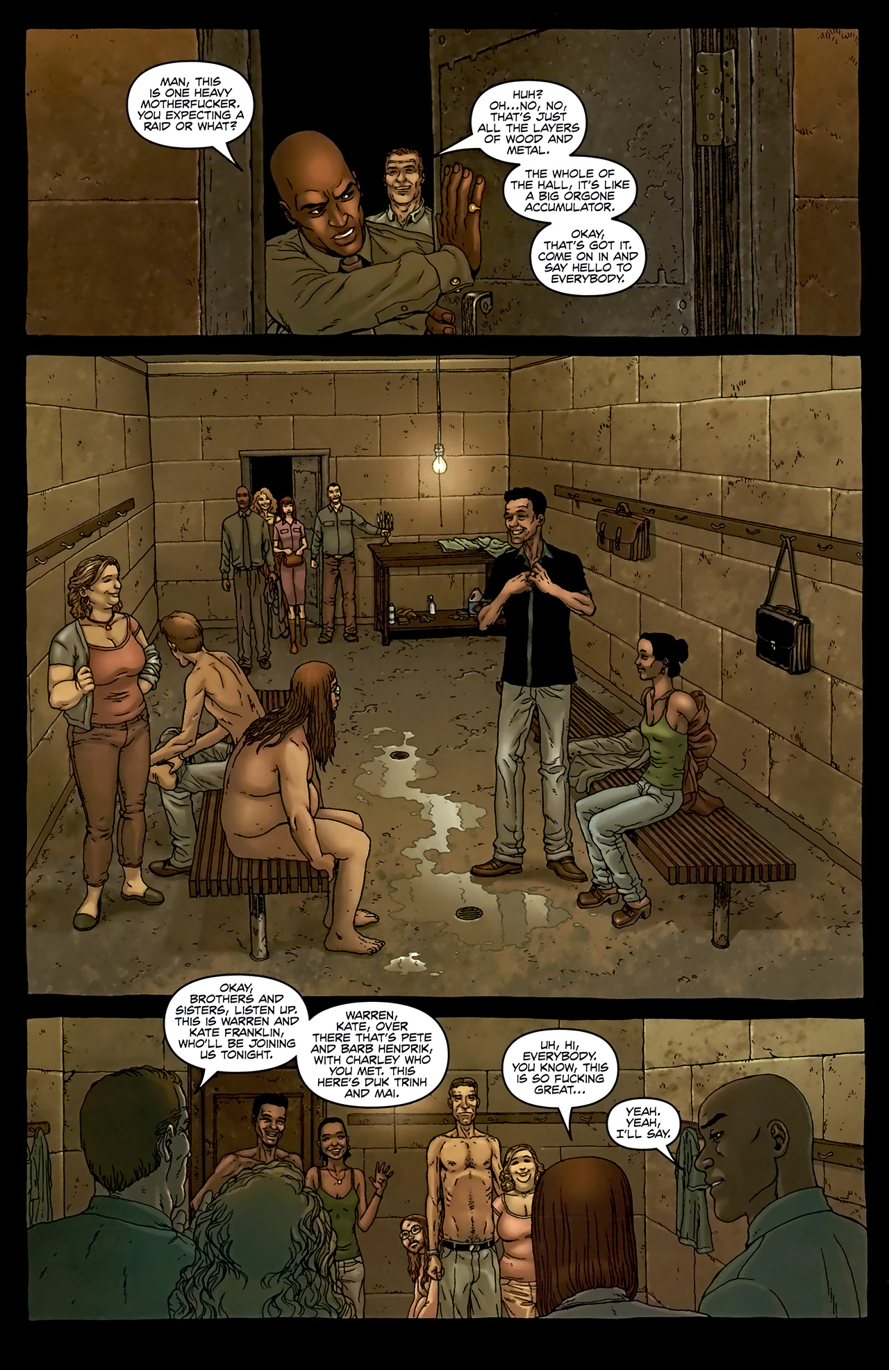 Read online Alan Moore's Neonomicon comic -  Issue #2 - 22