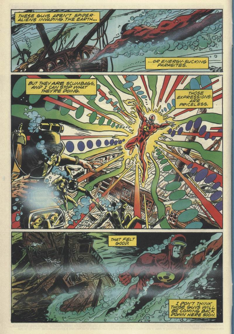 Read online Solar, Man of the Atom comic -  Issue #32 - 5