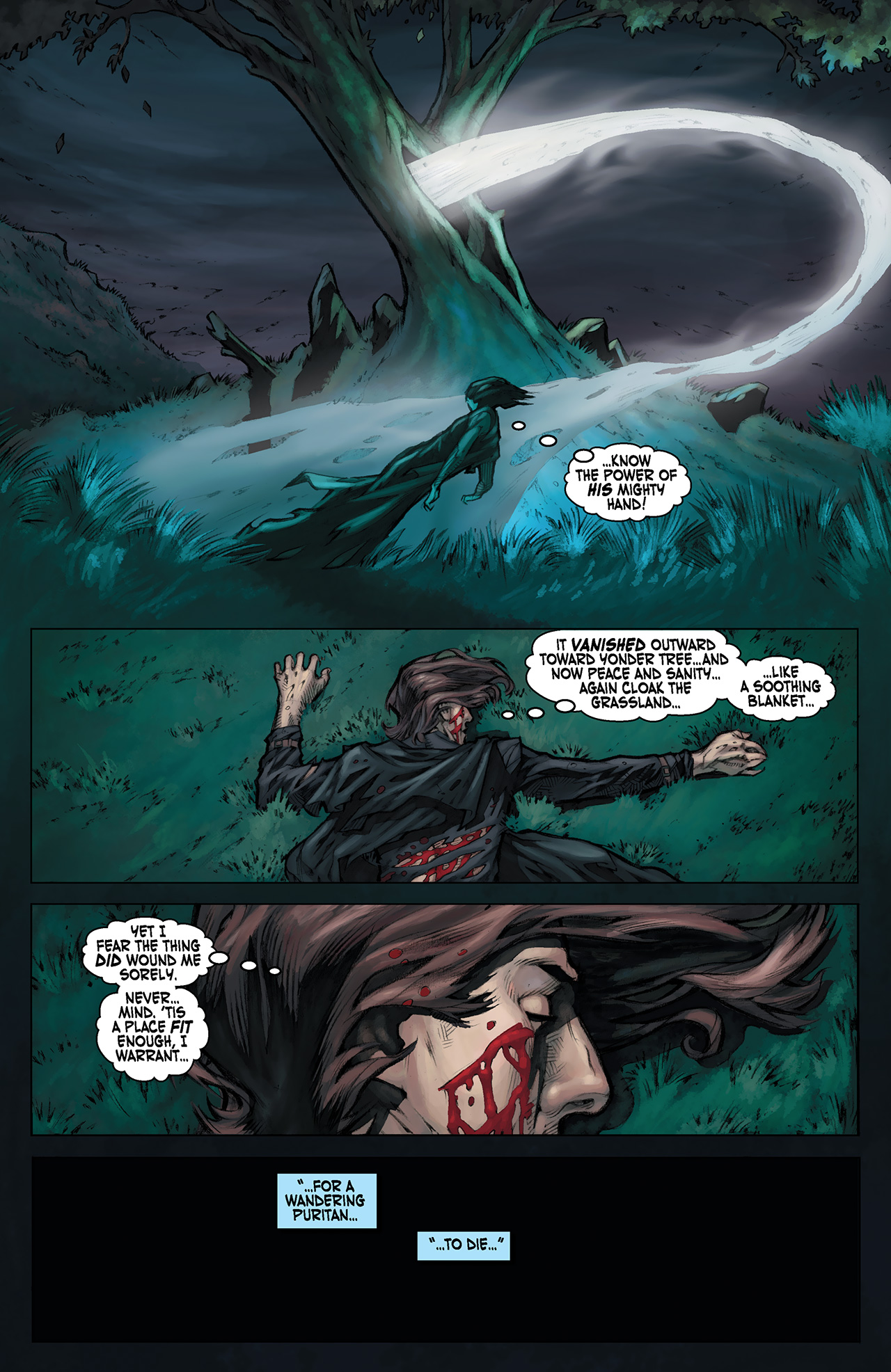 Read online Solomon Kane: Red Shadows comic -  Issue #1 - 15