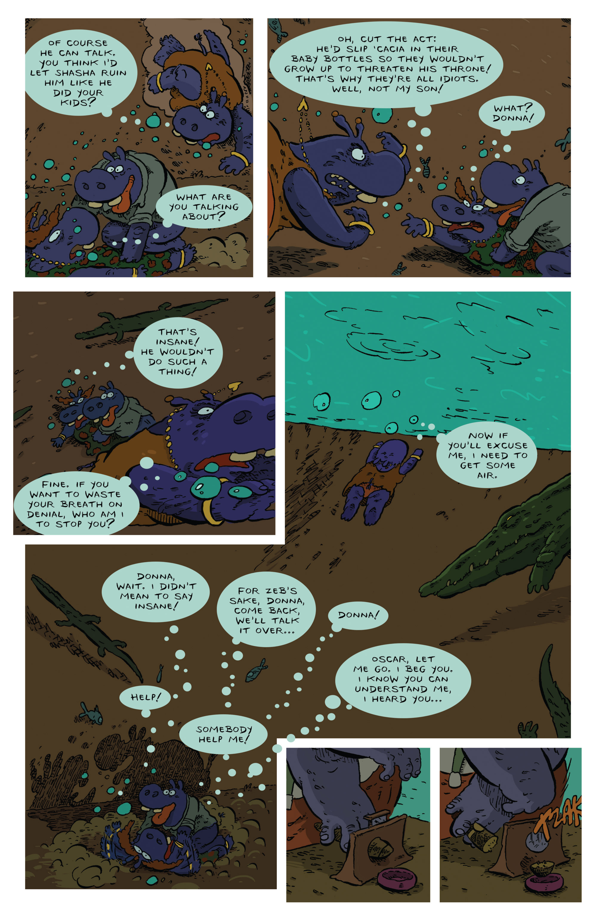 Read online Animal Noir comic -  Issue #4 - 7