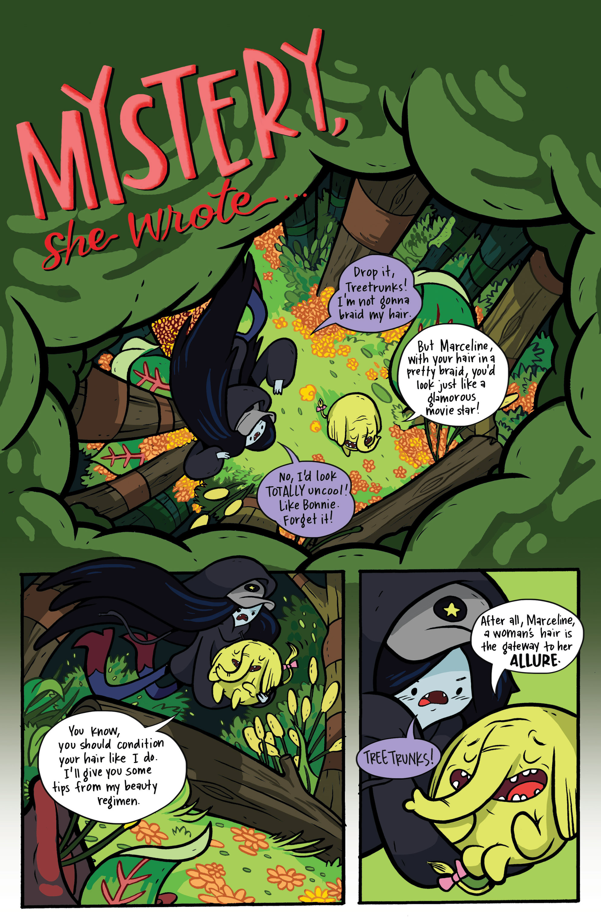 Read online Adventure Time: Candy Capers comic -  Issue #2 - 8