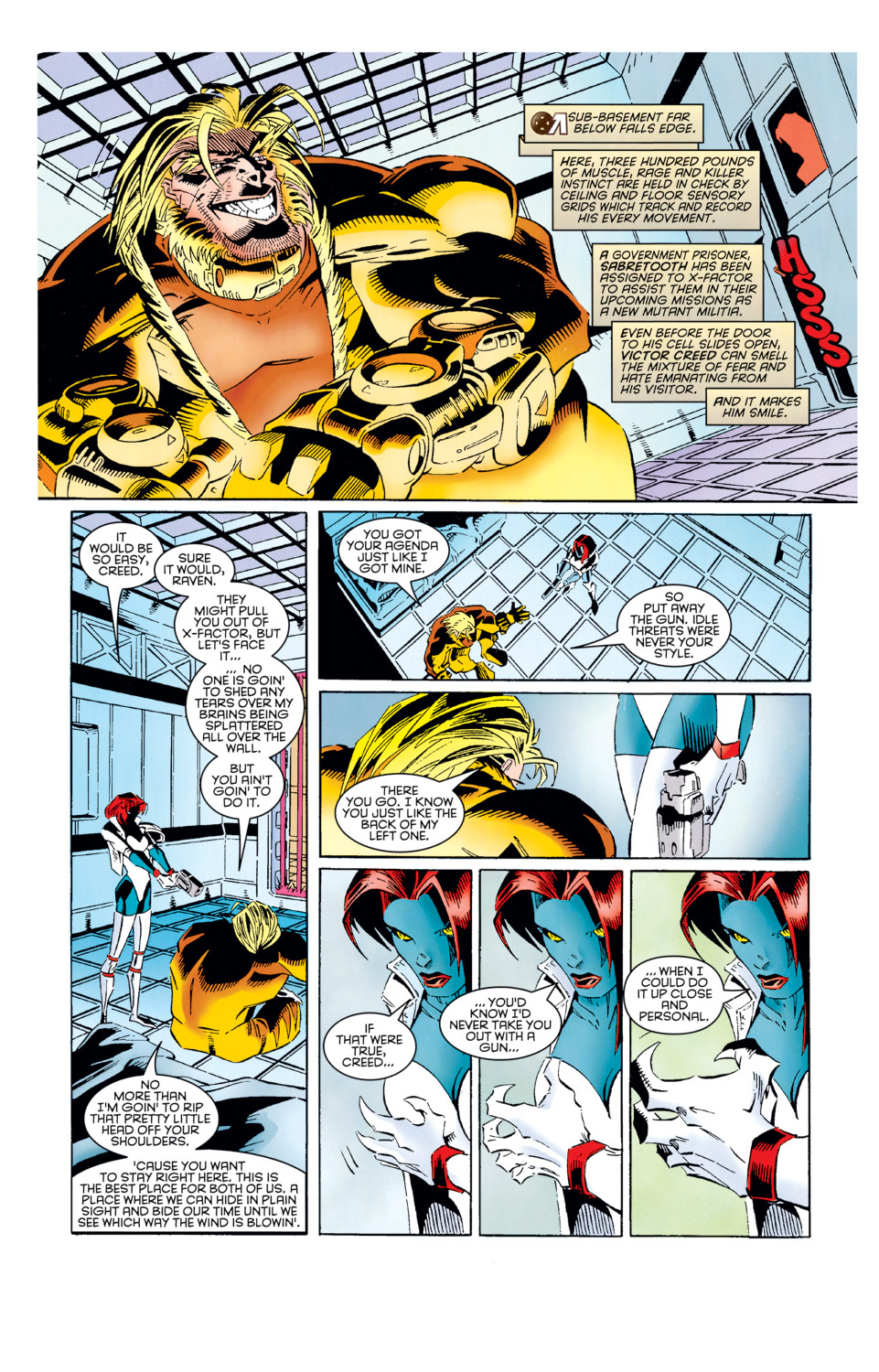 Read online X-Factor (1986) comic -  Issue #125 - 8