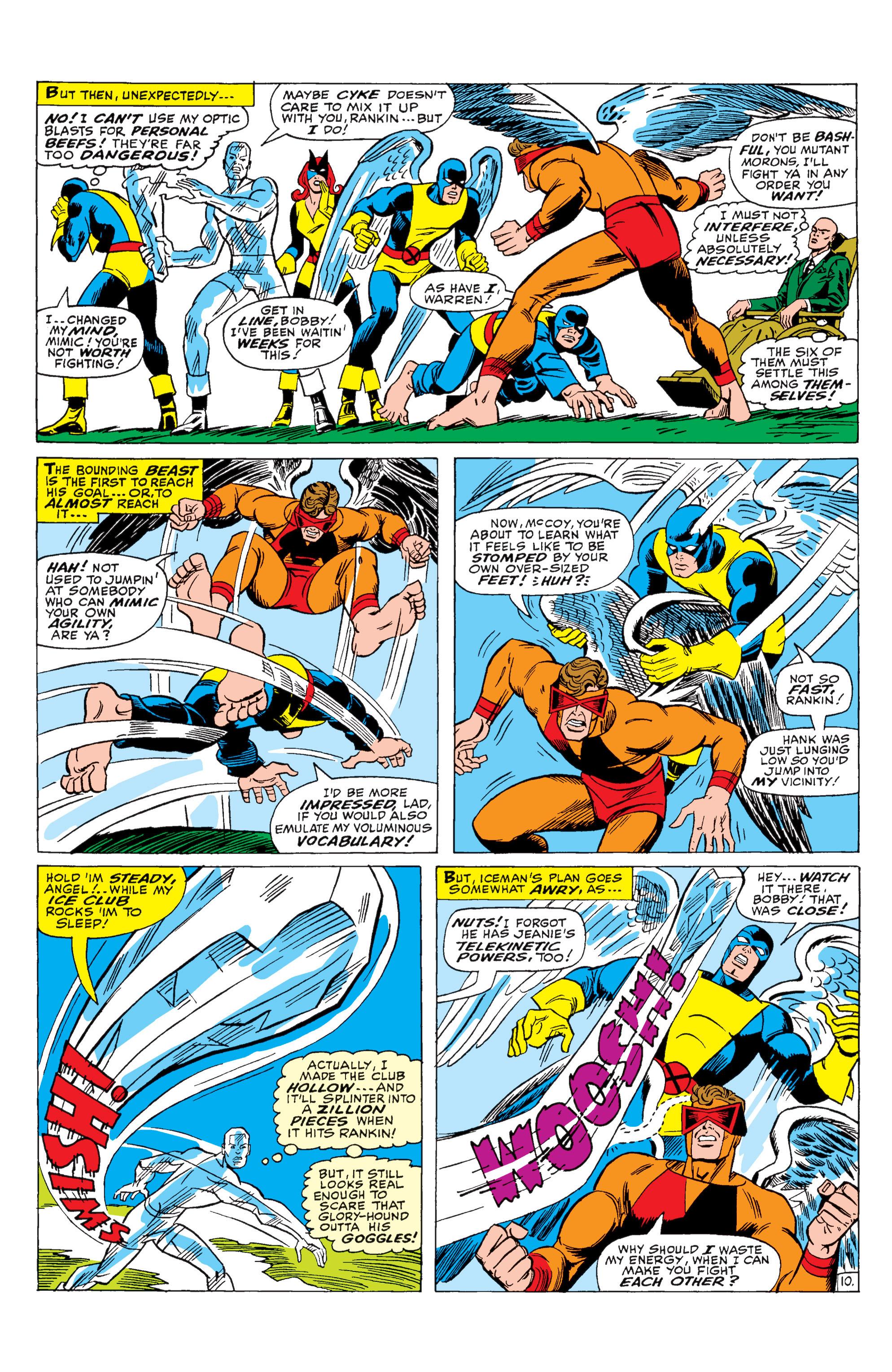 Uncanny X-Men (1963) 29 Page 10