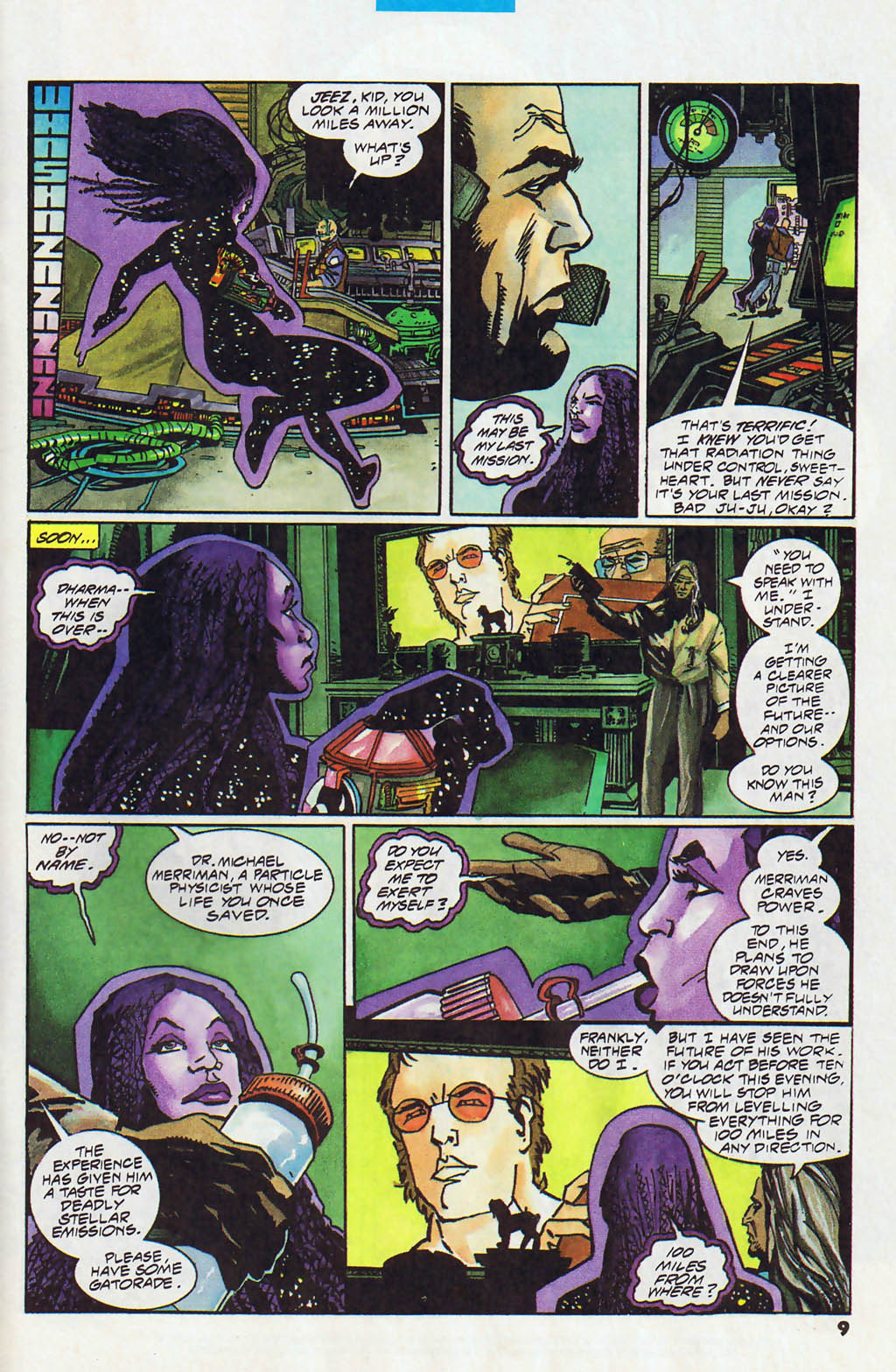 Read online Shadow Cabinet comic -  Issue #13 - 8