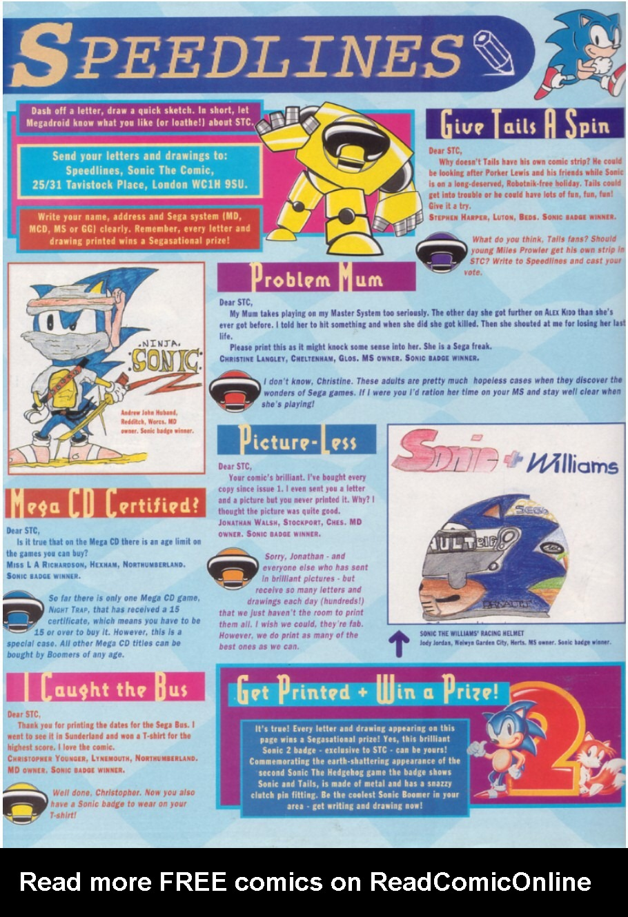 Read online Sonic the Comic comic -  Issue #6 - 31
