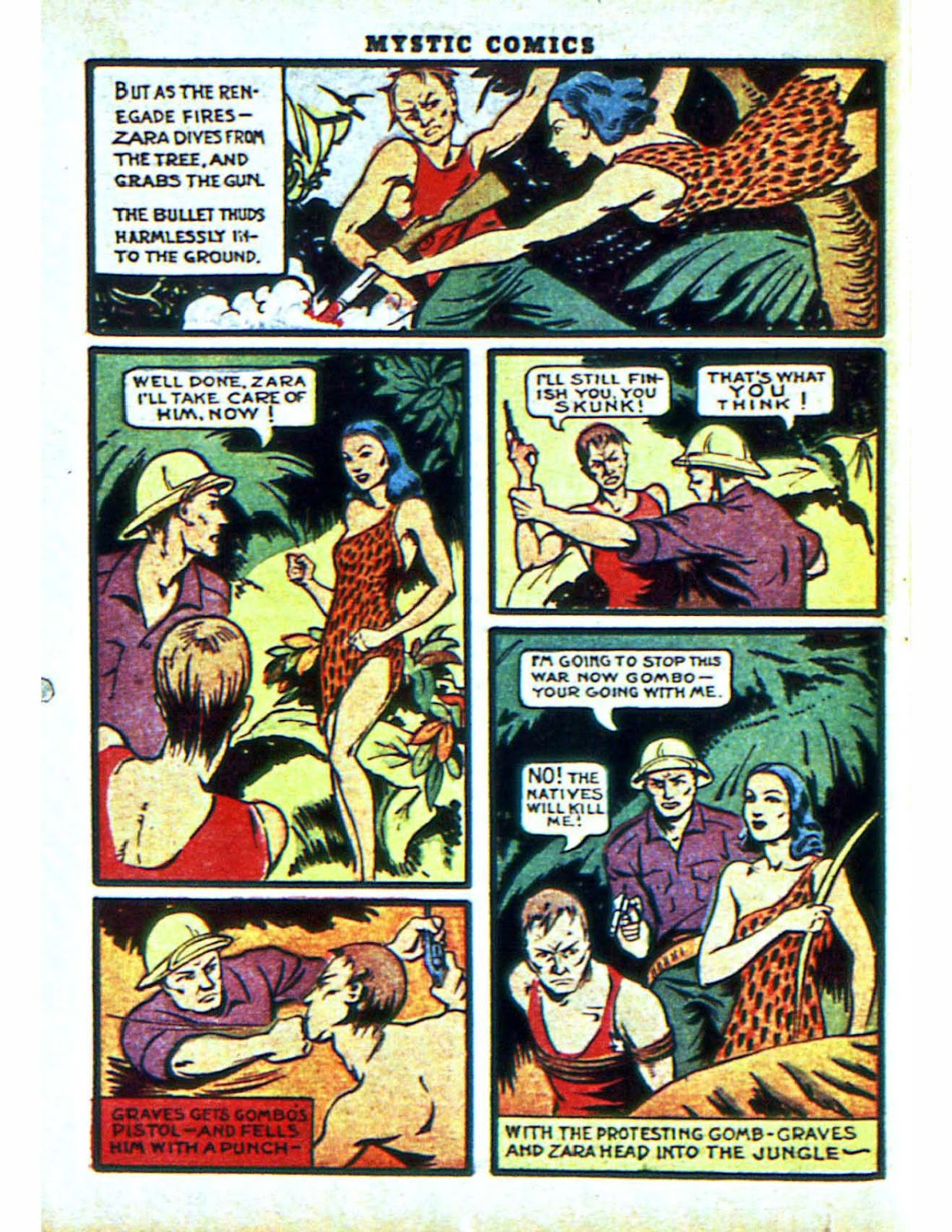 Mystic Comics (1940) issue 2 - Page 58