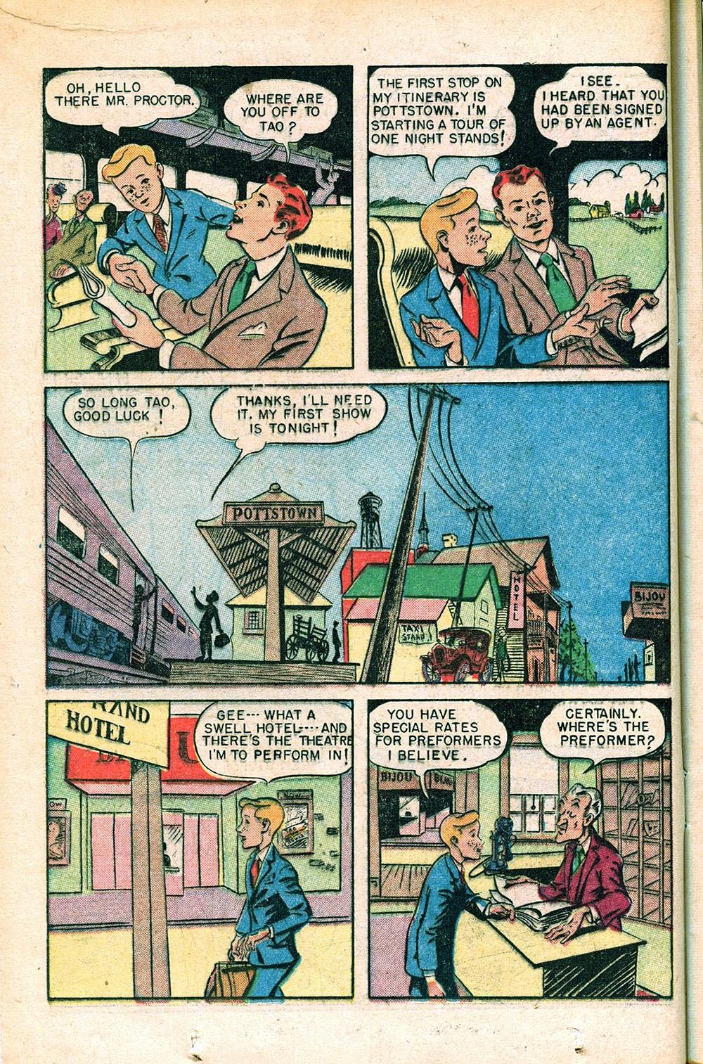 Read online Super-Magician Comics comic -  Issue #55 - 18