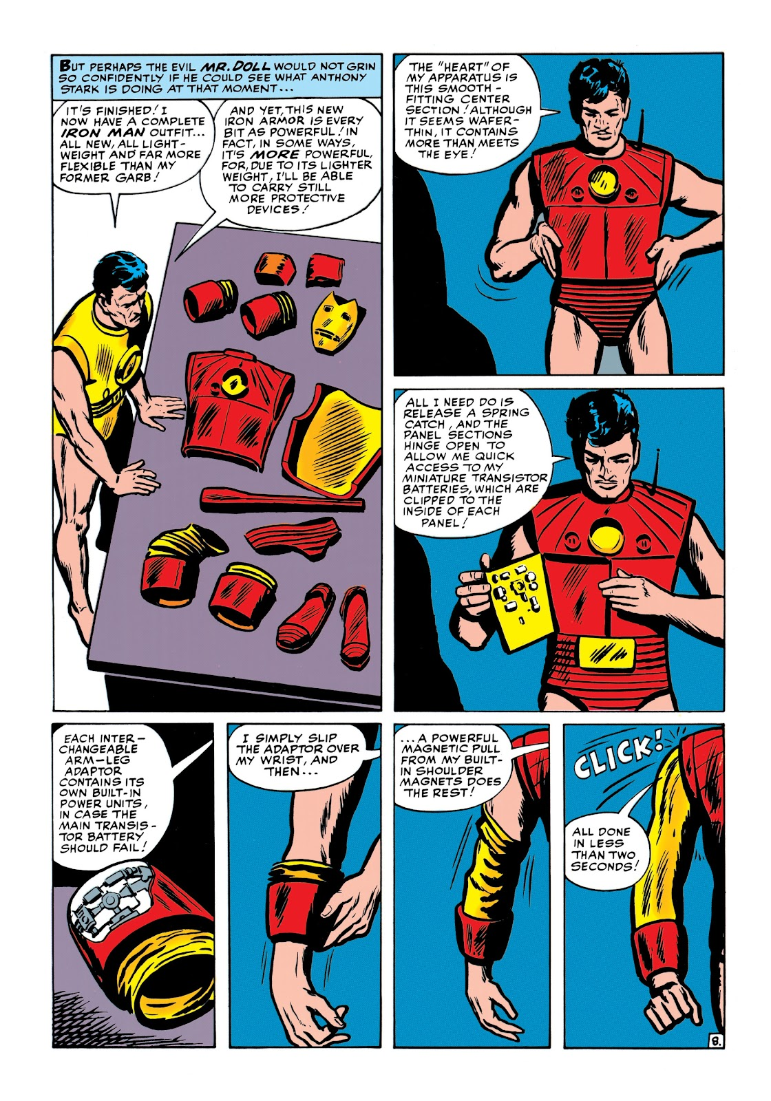 Read online Marvel Masterworks: The Invincible Iron Man comic -  Issue # TPB 1 (Part 2) - 47