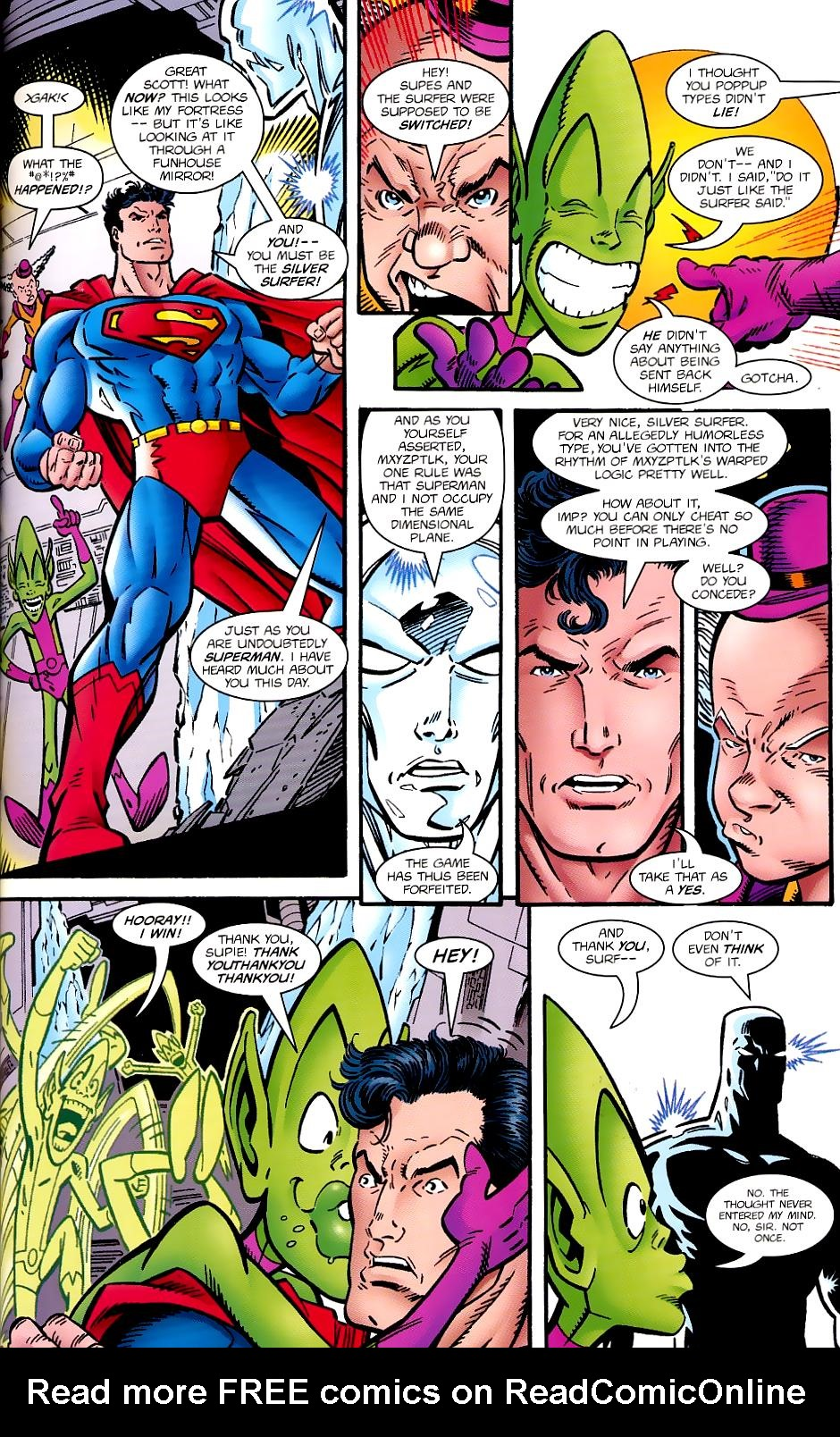 Read online Silver Surfer/Superman comic -  Issue # Full - 41