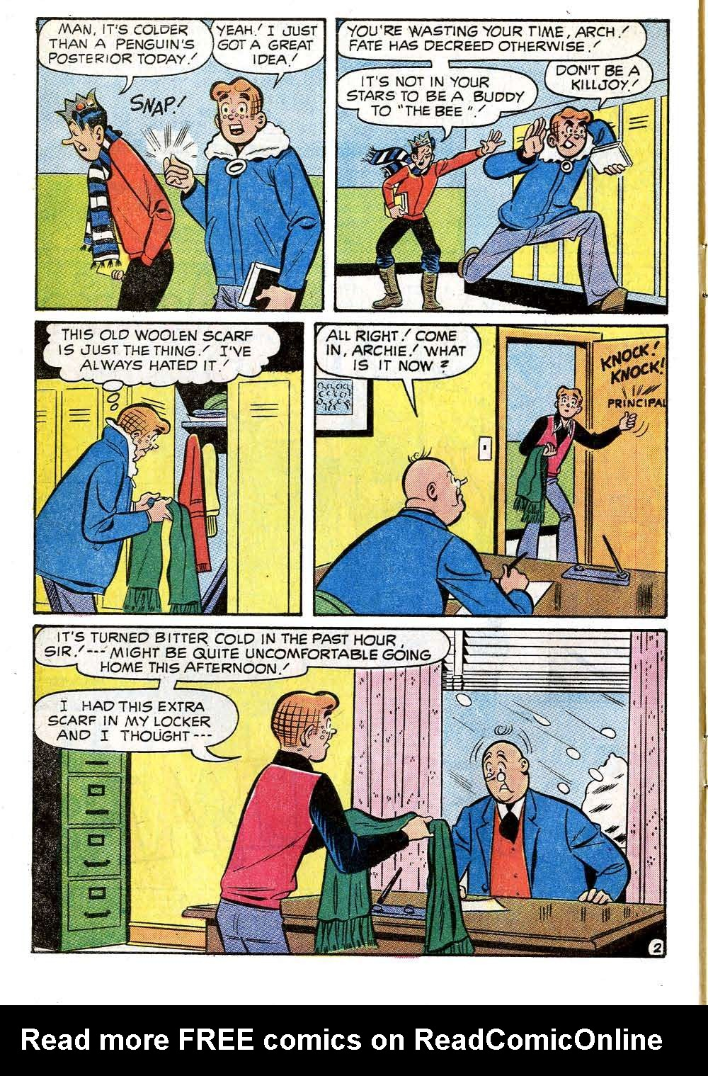 Read online Archie (1960) comic -  Issue #218 - 4