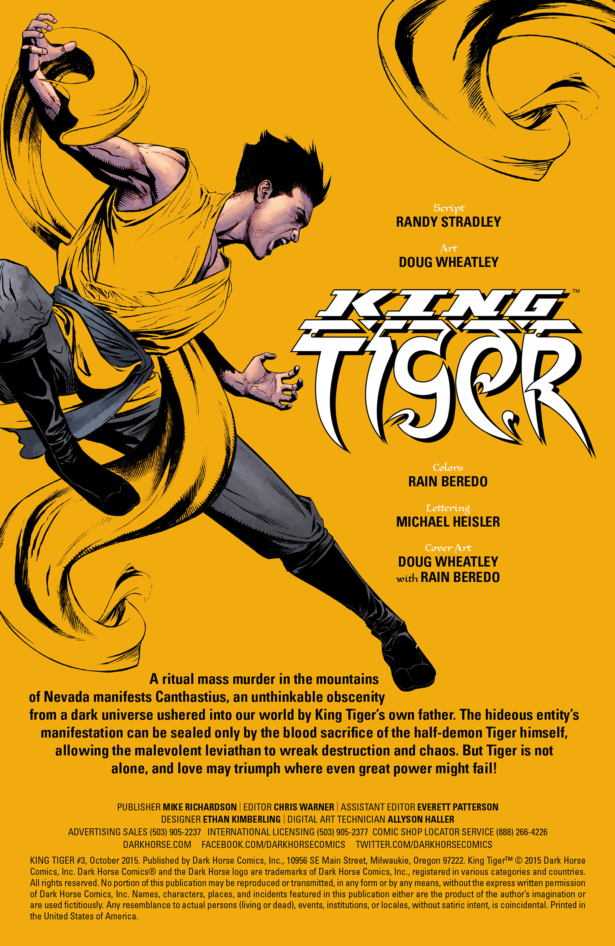 Read online King Tiger comic -  Issue #3 - 2