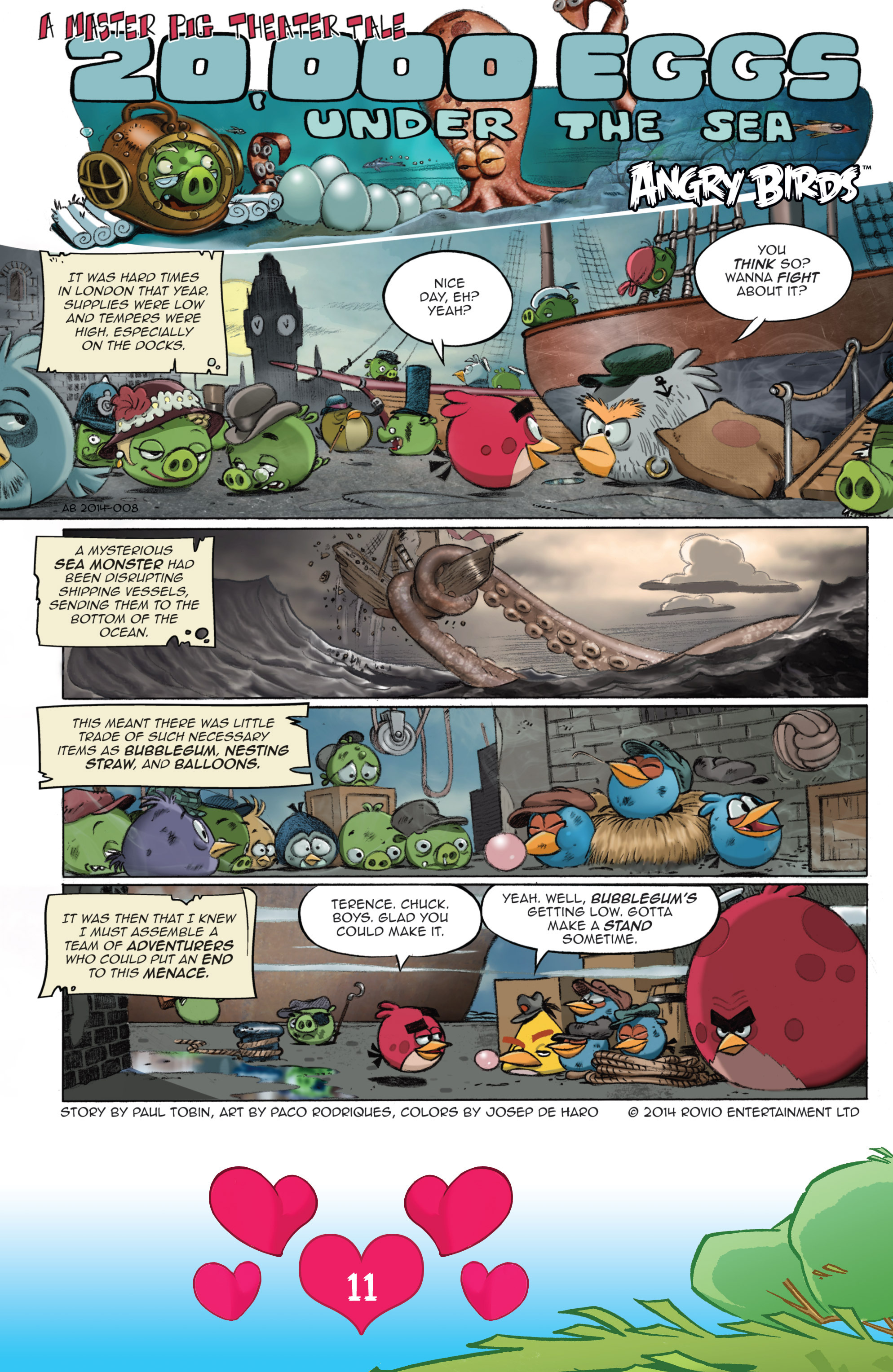Read online Angry Birds Comics (2016) comic -  Issue #2 - 13