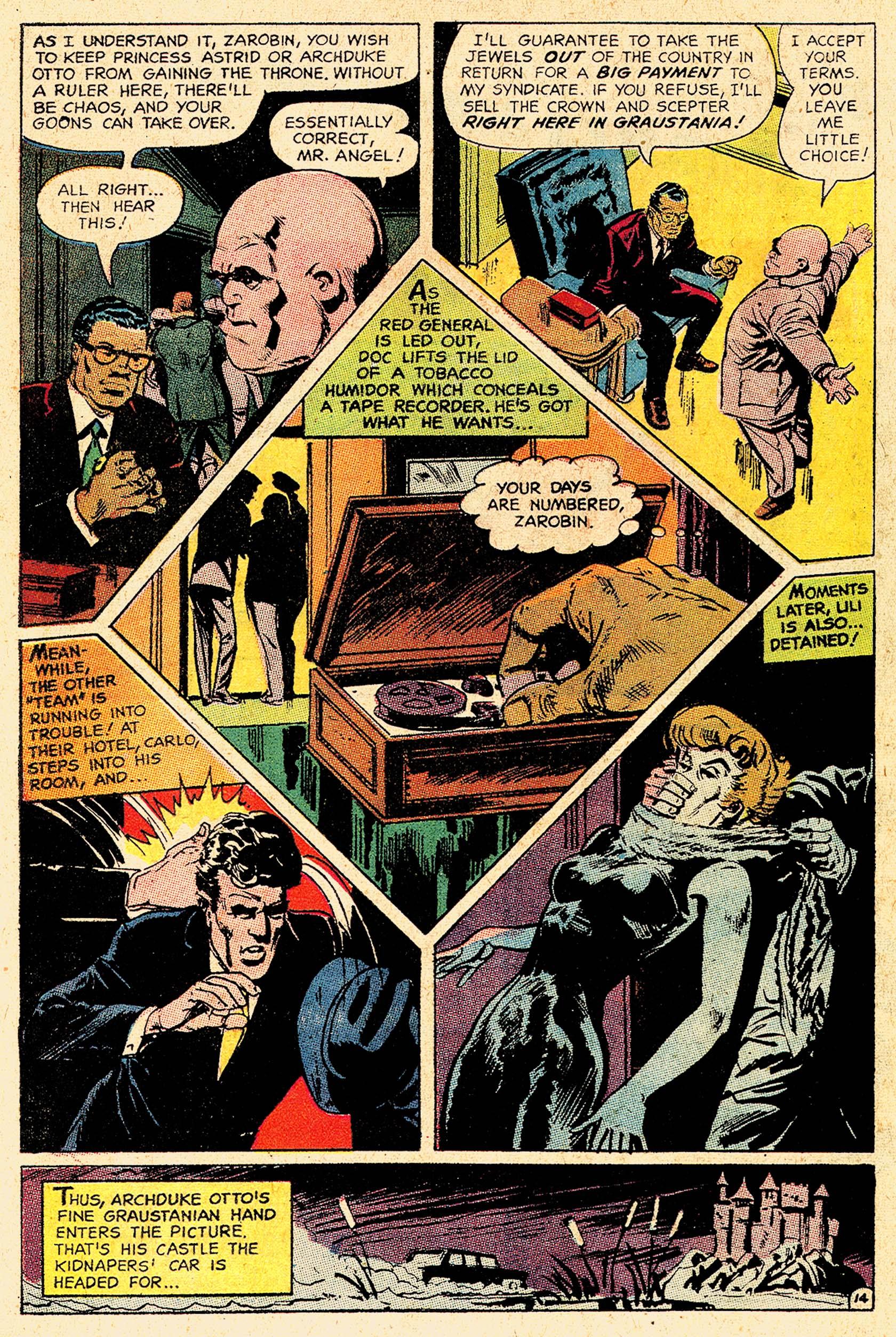 Read online Secret Six (1968) comic -  Issue #5 - 19