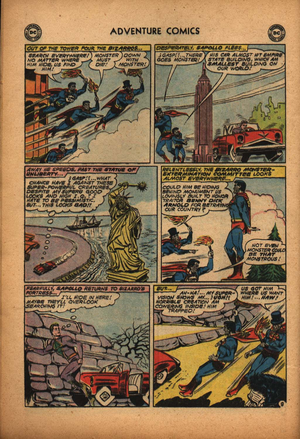 Read online Adventure Comics (1938) comic -  Issue #292 - 28