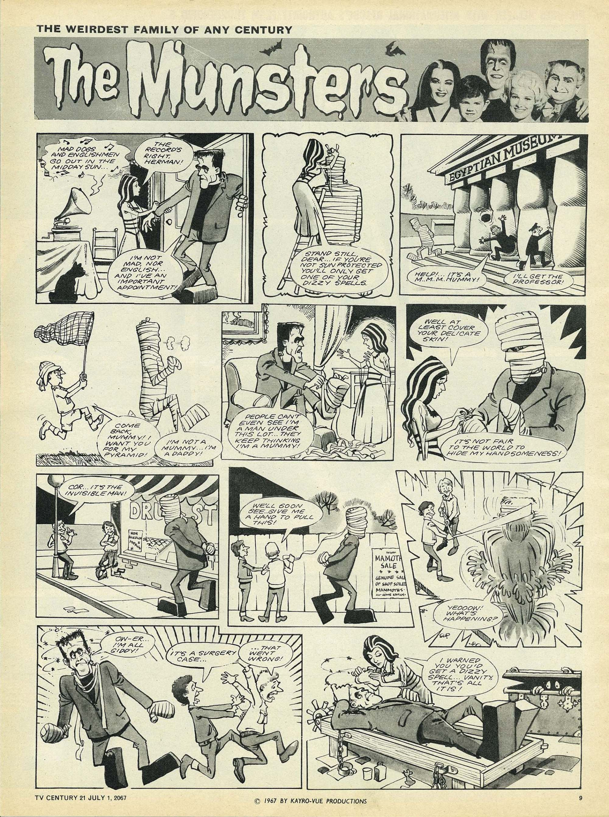 Read online TV Century 21 (TV 21) comic -  Issue #128 - 9