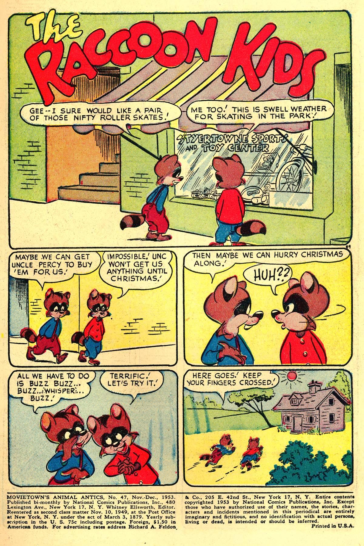 Read online Animal Antics comic -  Issue #47 - 3