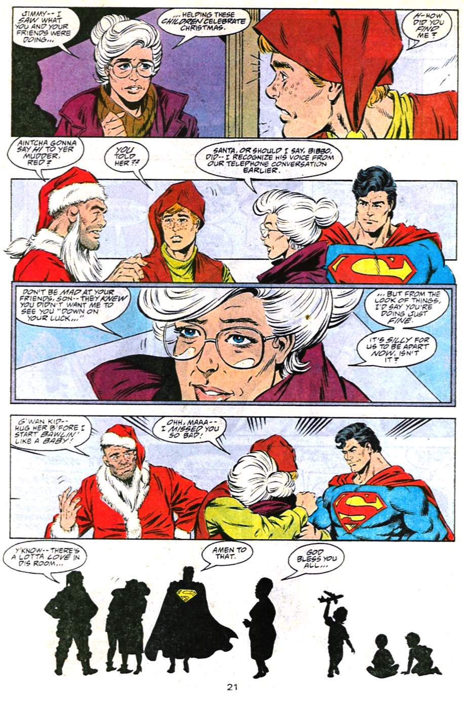 Read online Adventures of Superman (1987) comic -  Issue #487 - 22